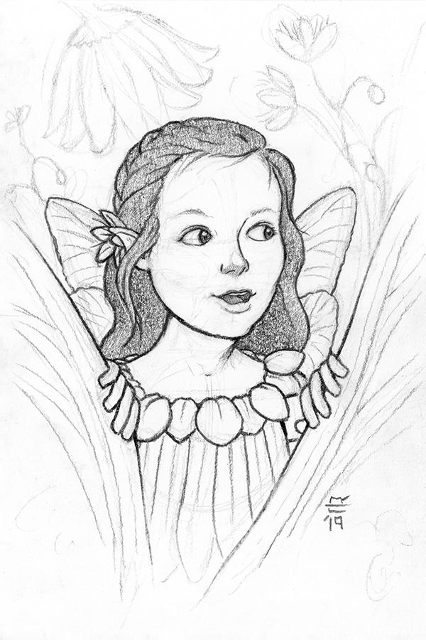 White Meadow Fairy